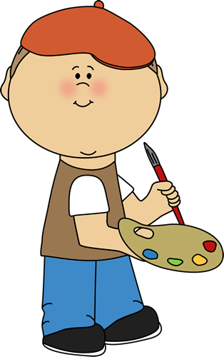 314x500 Painting Clipart Cute