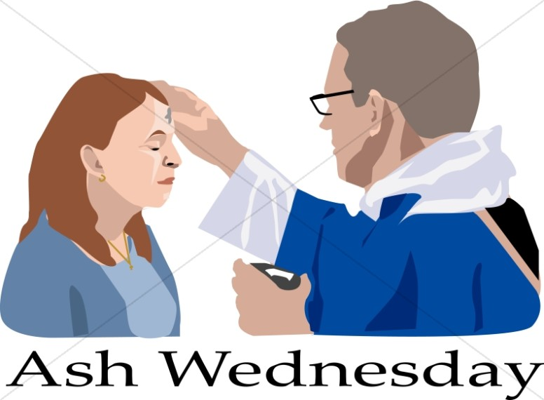 776x570 Ash Wednesday Word Art, Ash Wednesday Wordart