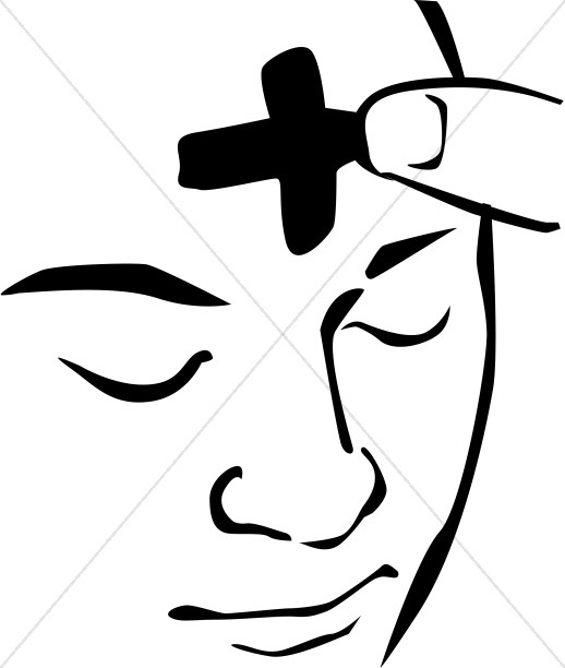 518x612 Ash Wednesday Face Clipart Ash Wednesday Clipart
