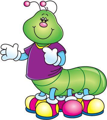 356x400 107 Best Butterfly Clip Art Images Caterpillar