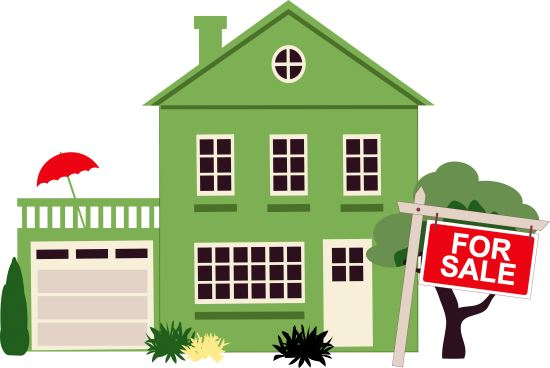 550x368 Free House For Sale Clipart Image
