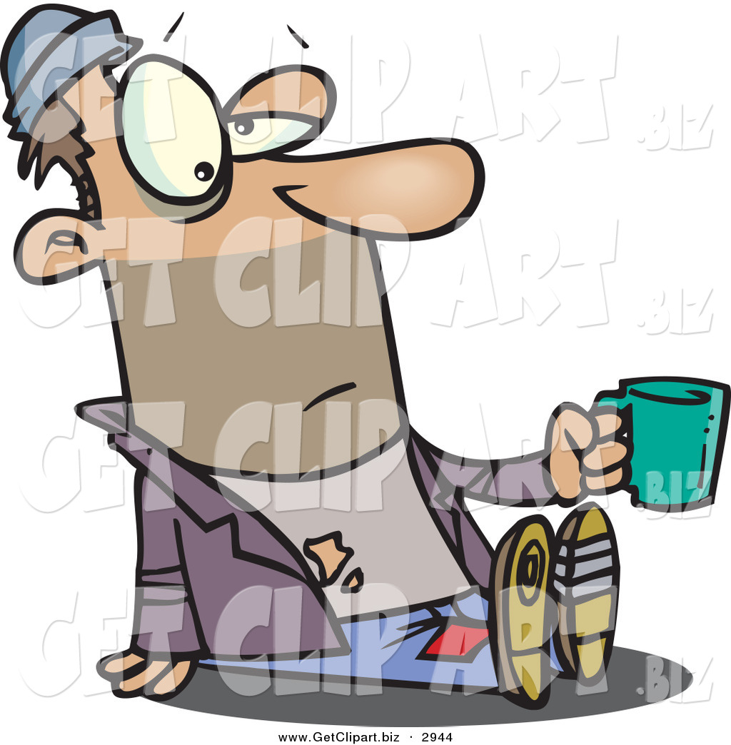 1024x1044 Homeless Man Clipart