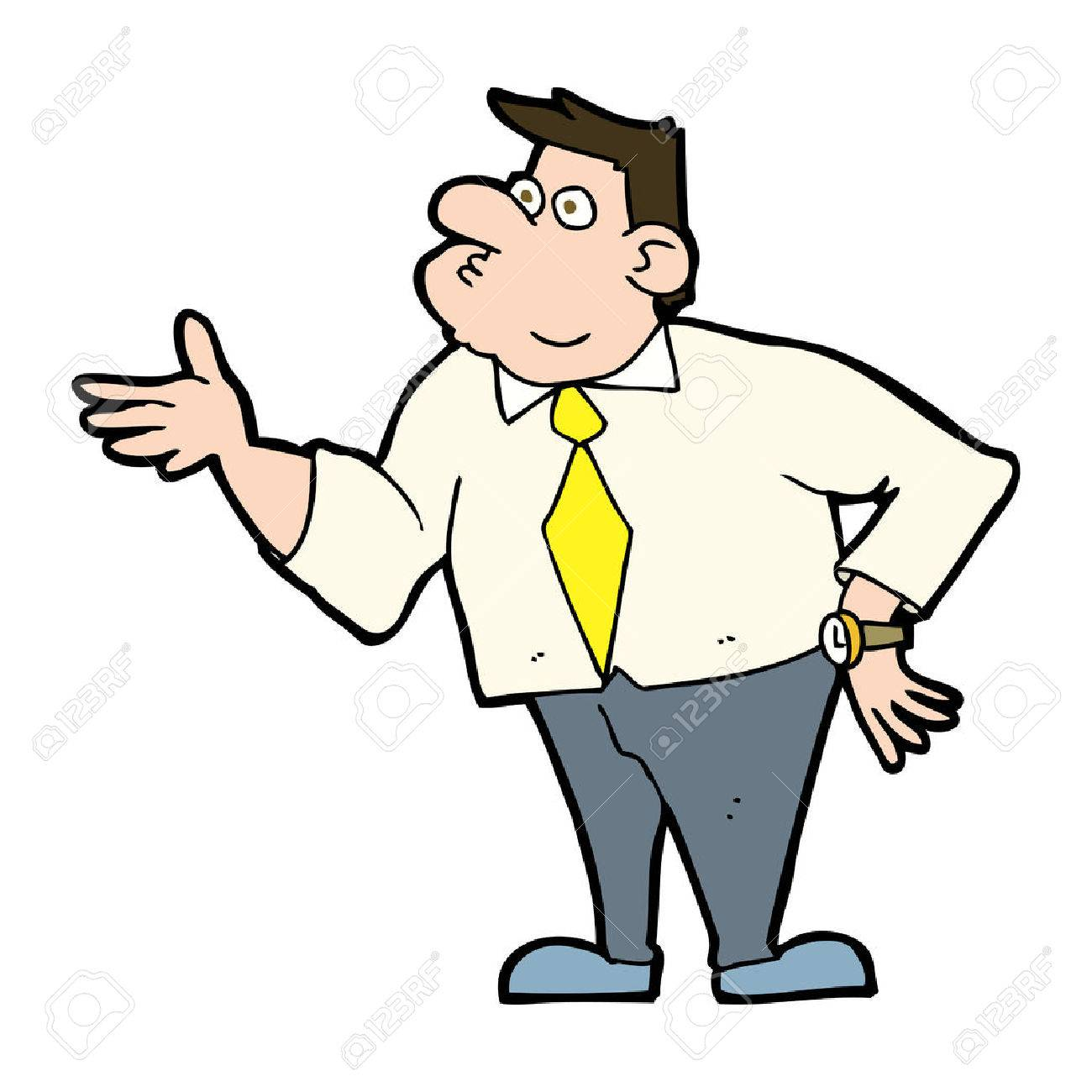 1300x1300 Cartoon Businessman Asking Question Royalty Free Cliparts, Vectors