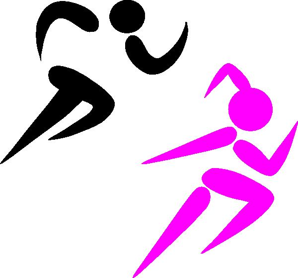 600x559 Girl Clipart Athletics