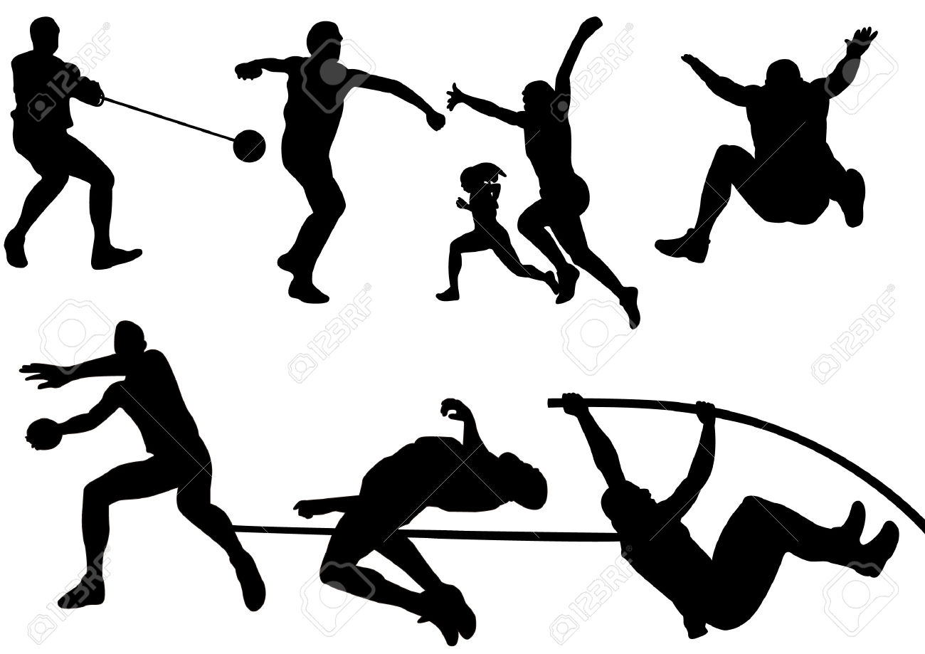 1300x919 Olympic Games Clipart Athletics Event