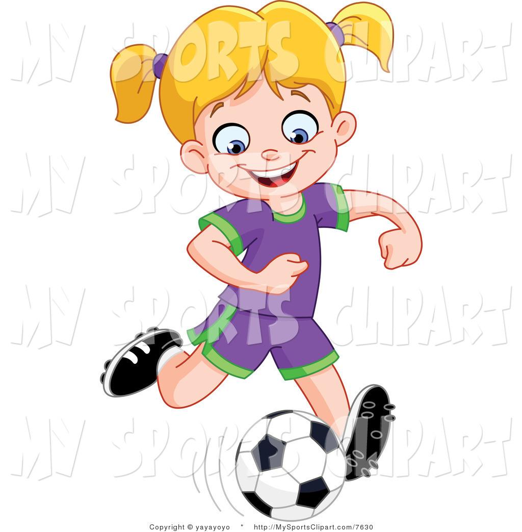 1024x1044 Soccer Girls Clipart