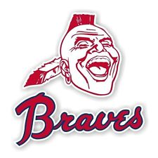 225x225 Atlanta Braves Decal Ebay