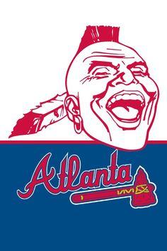 236x354 Atlanta Braves Iphone Wallpaper Bravos Major