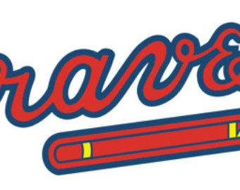 340x270 Atlanta Braves Decal Etsy