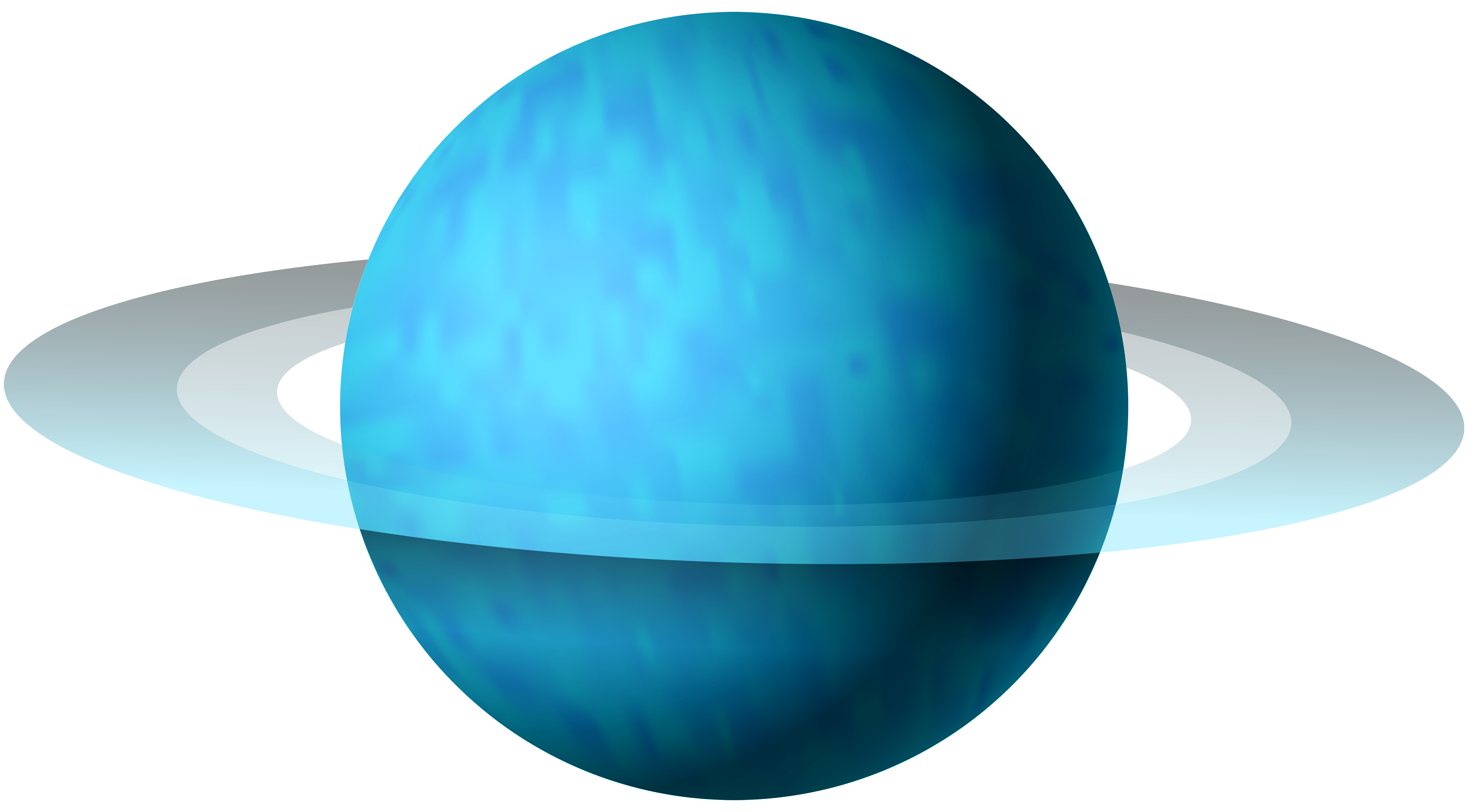 7000x3865 Uranus Png Clip Art