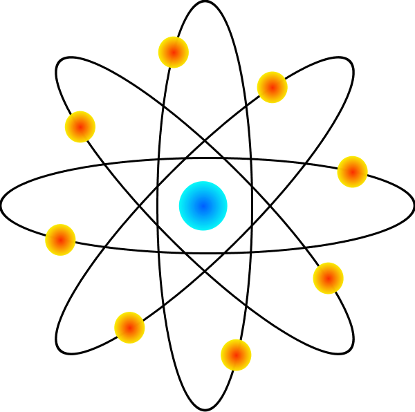 600x596 Atom Science Atom Clipart