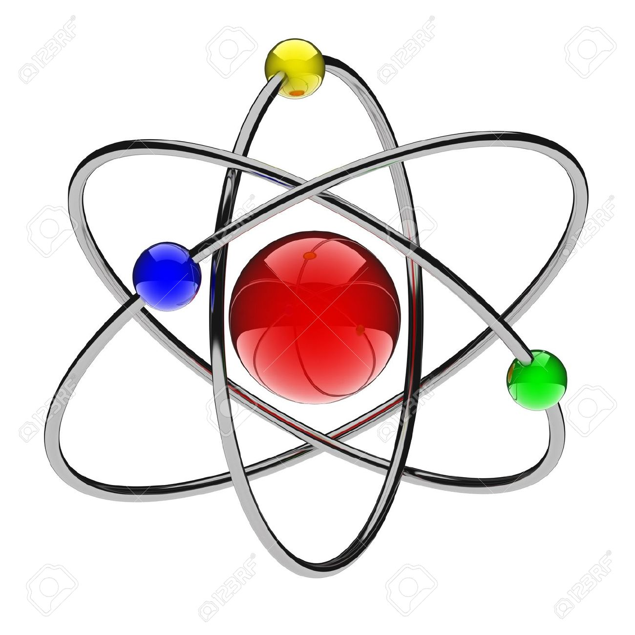 1300x1300 Atom Nucleus Clipart