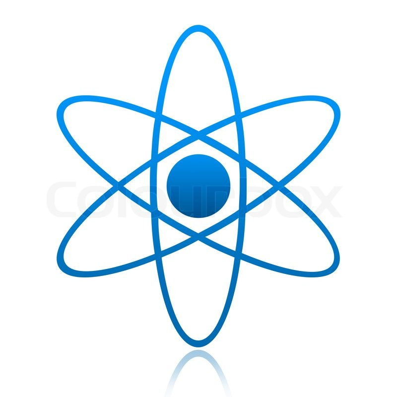800x800 Atom Symbol Stock Photo Colourbox
