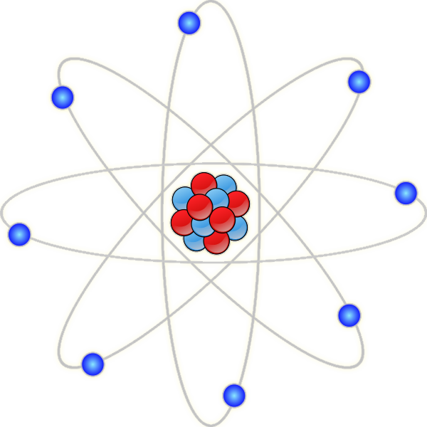 600x600 Chemistry Atom Clipart Free Images