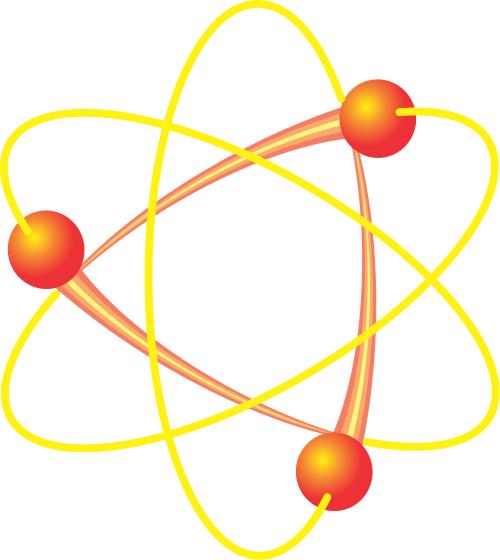 500x560 Atom Clip Art Download