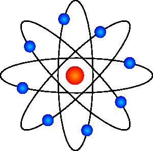 300x296 Atom Symbol Clip Art