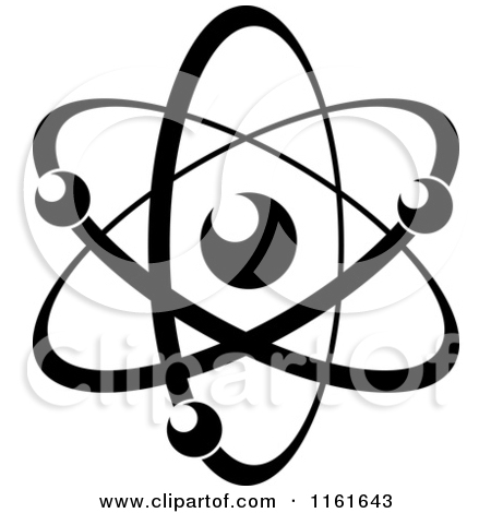 450x470 Free Clipart Illustration Of An Atom