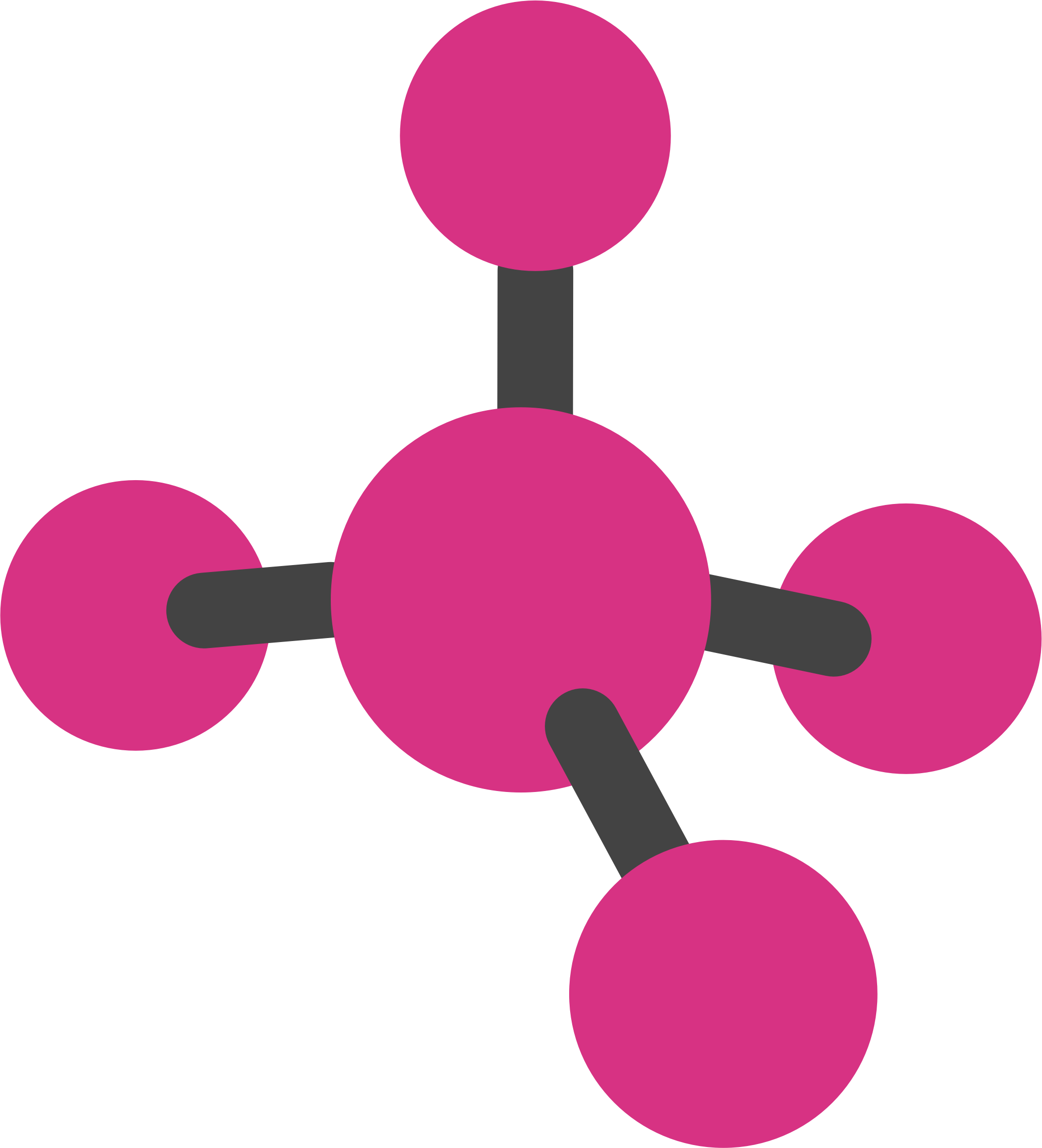 2098x2312 Molecule Clipart