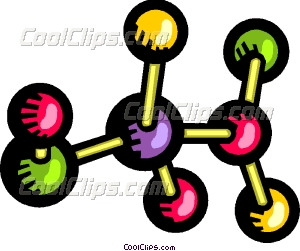 300x251 Molecules And Atoms Vector Clip Art