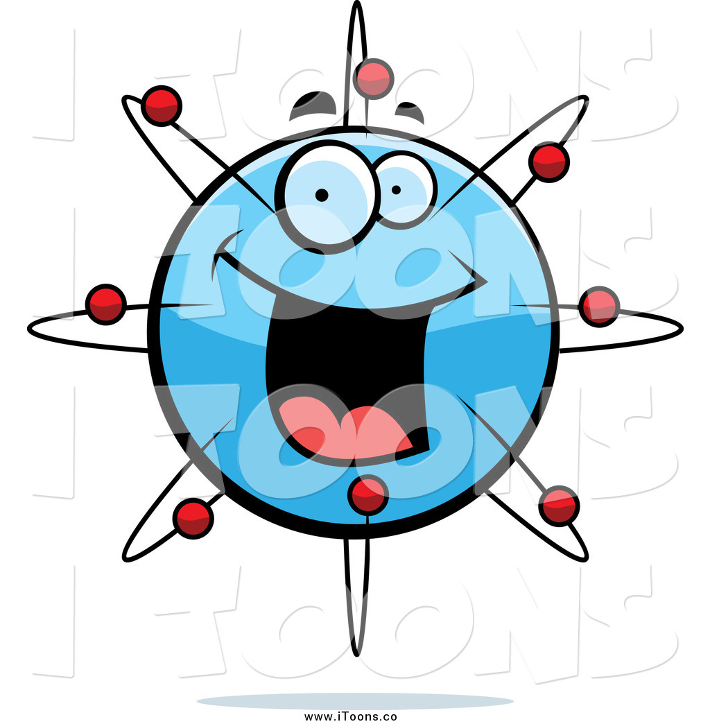 1024x1044 Vector Clip Art Of A Happy Atom Face By Cory Thoman