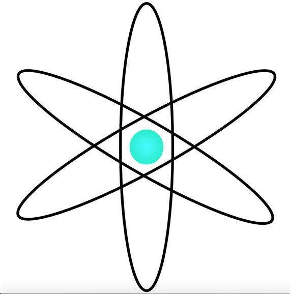 570x578 Atom Clip Art Atoms Clipart Atomic Image By Prettydigitalpenny