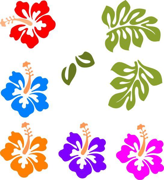 August Flower Clipart