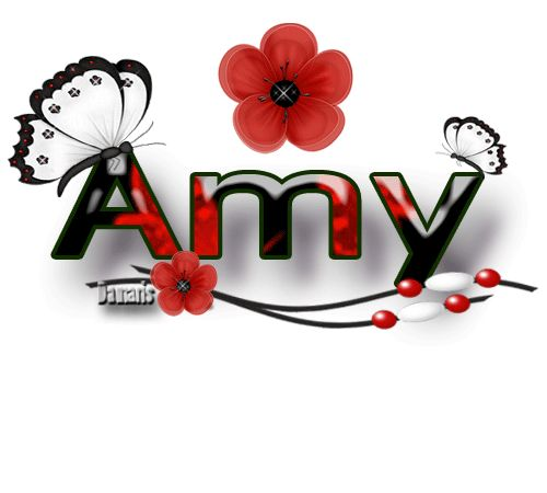 500x450 The Name Amy In Glitter Glitter Graphics The Community