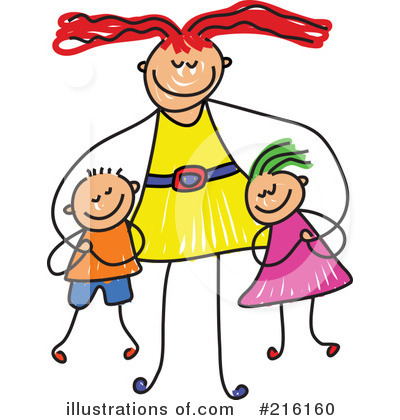 400x420 Mother Clipart