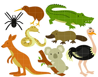 Australian Animals Clipart | Free download on ClipArtMag