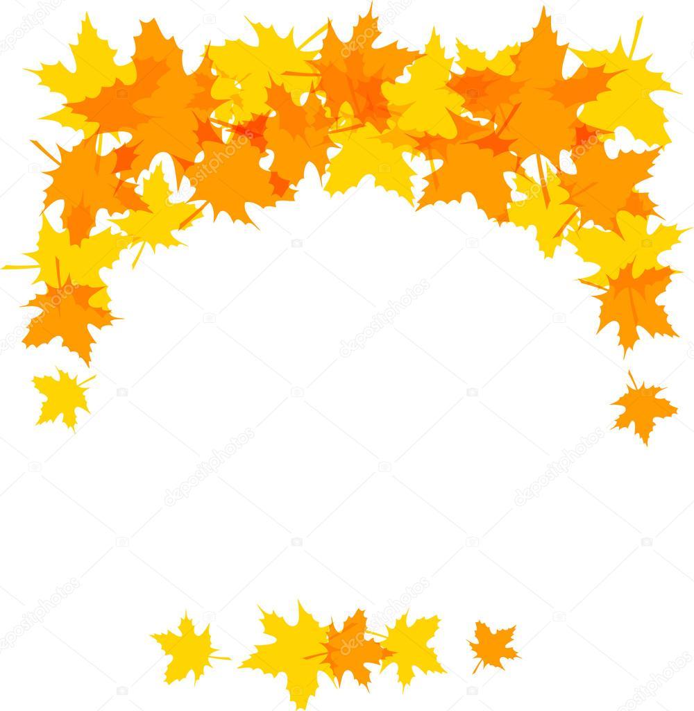 1000x1024 Autumn Leaves Stock Vector Prikhnenko