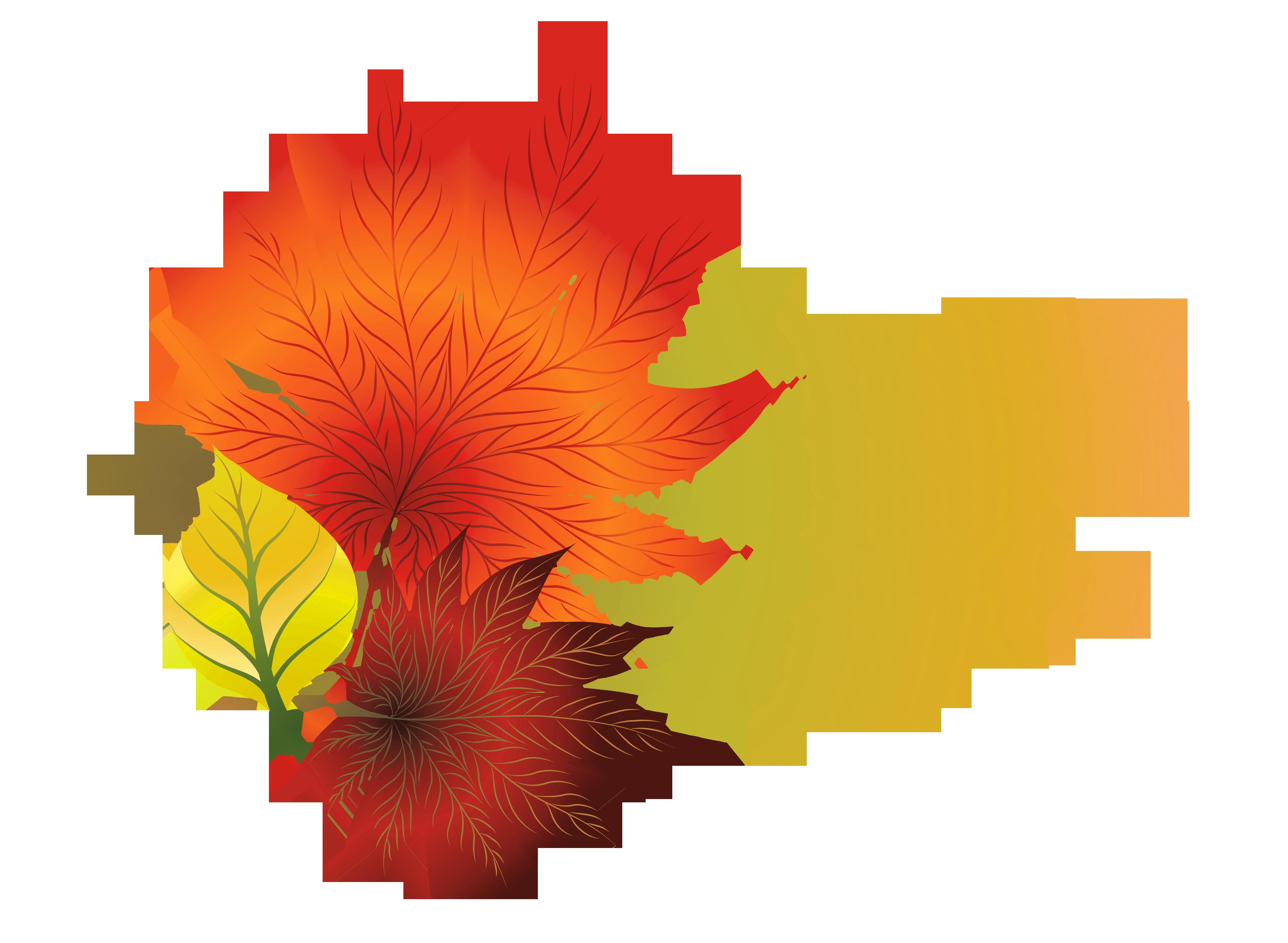 3525x2581 Top 83 Fall Leaf Clip Art