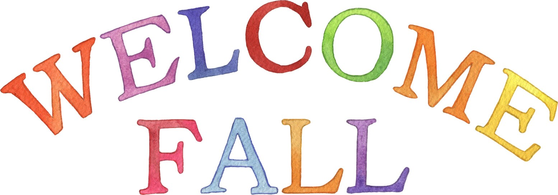 1554x545 Fall Clipart Welcome Autumn