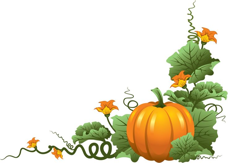 Autumn Clipart Borders