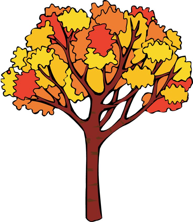 736x844 Autumn Tree Clipart Free