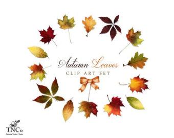 340x270 Autumn Clipart Etsy
