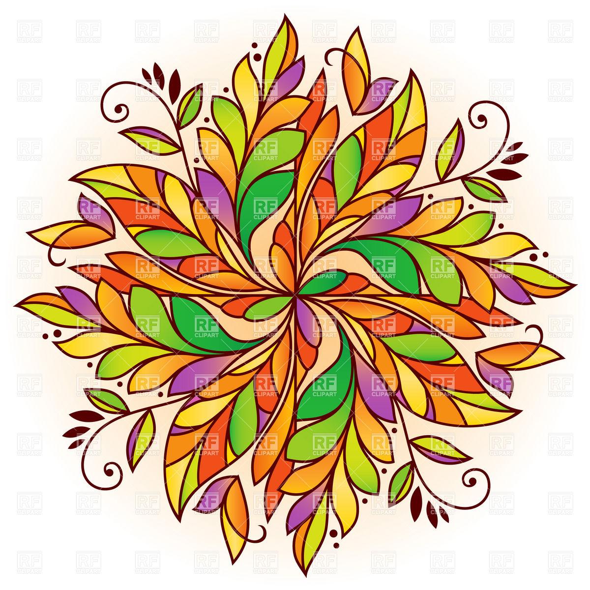 1200x1200 Autumn Leaf Pattern