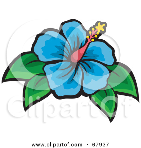 450x470 Clipart Flowers And Leaves