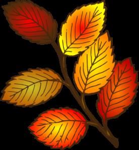 276x297 Autumn Leaf Clip Art