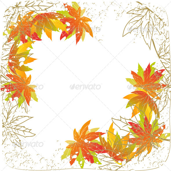590x590 Colorful Autumn Leaves By Meikis Graphicriver