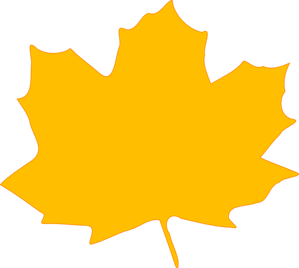 600x537 Larger Clipart Autumn Leaves