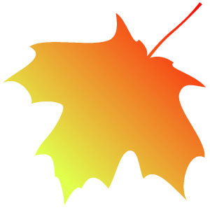 300x300 Autumn Leaf Clip Art