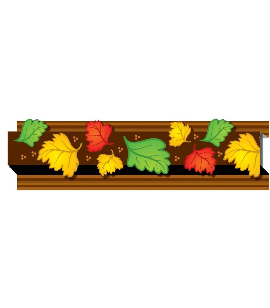 875x1000 Autumn Leaves Straight Borders Grade Pk 8 Carson Dellosa Publishing