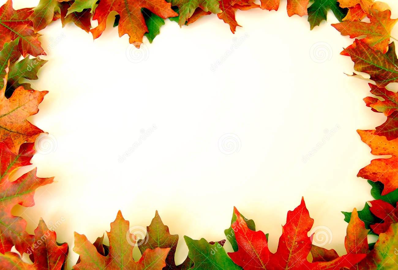 1300x882 Fall Leaves Border Clip Art