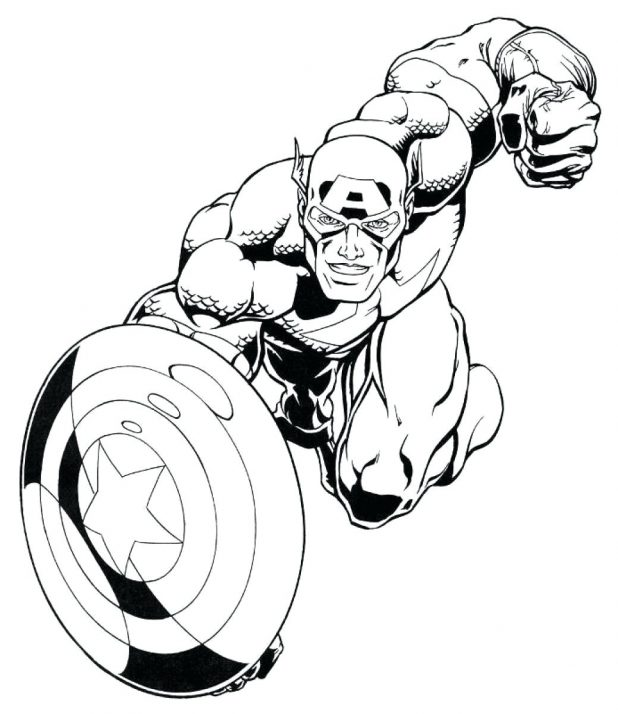 Avengers Coloring Pages | Free download on ClipArtMag