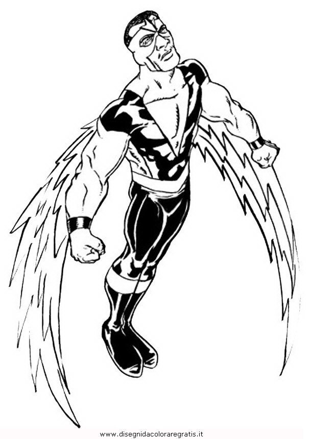 605x860 Coloring Pages Draw A Falcon Falcon Marvel Avengers Coloring Pages