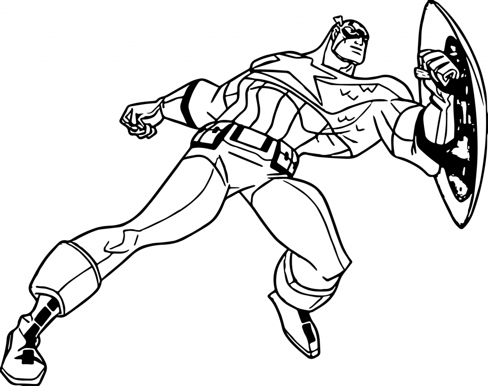 960x760 Get This Captain America Coloring Pages Marvel Avengers 67481 !