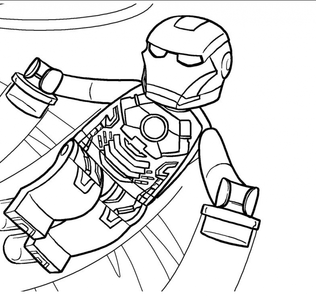 1024x983 Lego Avengers Coloring Pages Getcoloringpages Throughout