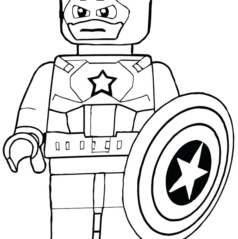 766x768 Stunning Surprising Avengers Lego Coloring Pages Kids Coloring