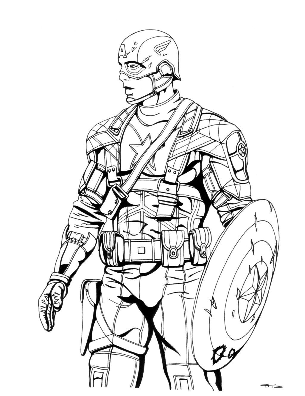 1024x1332 Avengers Coloring Pages Captain America Coloring Sheets