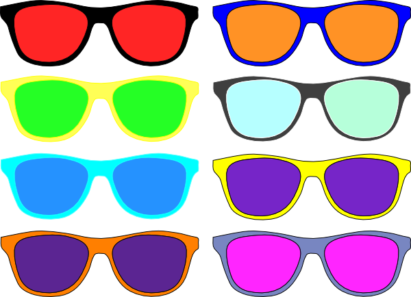 Aviator Sunglasses Clipart | Free download on ClipArtMag